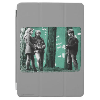 Protection iPad Air Hermione, Ron, et Harry 1