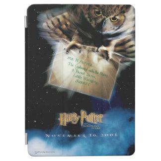 Protection iPad Air Hibou avec l'affiche de film de lettre