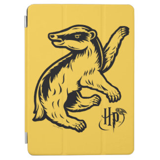 Protection iPad Air Icône de blaireau de Harry Potter | Hufflepuff
