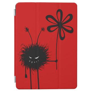 Protection iPad Air Insecte mauvais gothique drôle rouge de fleur