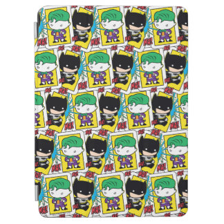 Protection iPad Air Joker de Chibi et motif de carte de jeu de Batman