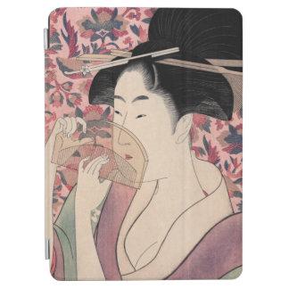 Protection iPad Air La beauté orientale, Kushi par Kitagawa Utamaro