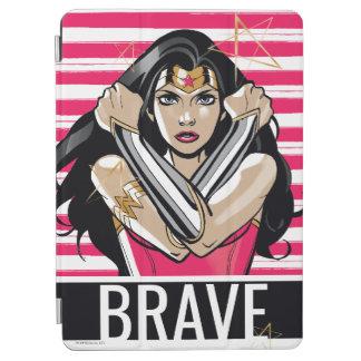 Protection iPad Air La femme de merveille défendent - le modèle