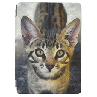 Protection iPad Air Le Bengale mignon Kitty