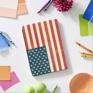 Protection iPad Air Le drapeau américain âgé s'est fané