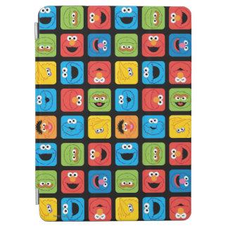 Protection iPad Air Le Sesame Street a cubé le motif de visages