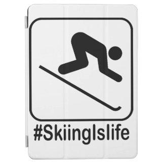 Protection iPad Air Le ski est la vie !