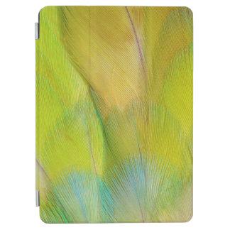 Protection iPad Air Le vert a dirigé le perroquet horizontal