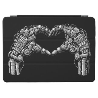 Protection iPad Air Les mains de robot font la forme de coeur