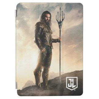 Protection iPad Air Ligue de justice | Aquaman sur le champ de