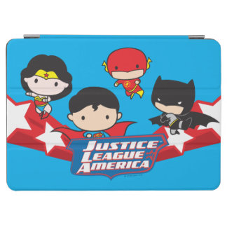 Protection iPad Air Ligue de justice de Chibi des étoiles de