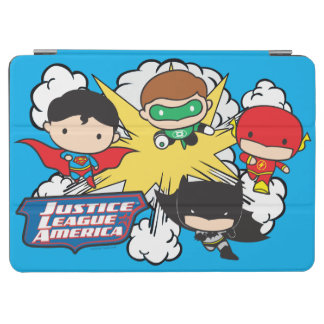 Protection iPad Air Ligue de justice de Chibi d'explosion de