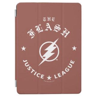 Protection iPad Air Ligue de justice | le rétro emblème instantané de