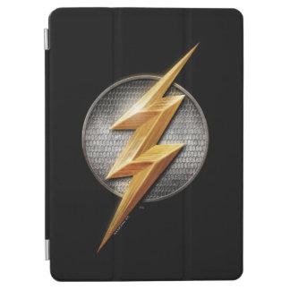 Protection iPad Air Ligue de justice | le symbole métallique