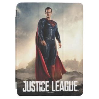 Protection iPad Air Ligue de justice | Superman sur le champ de