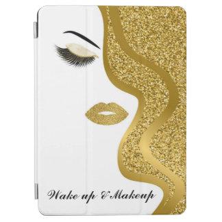 Protection iPad Air Maquillage avec l'effet de parties scintillantes
