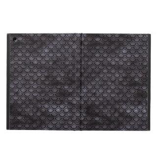 PROTECTION iPad AIR MARBRE SCALES2 NOIR ET AQUARELLE NOIRE (R)