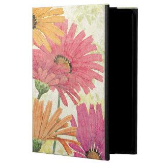 Protection iPad Air Marguerites décoratives