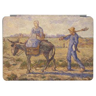 Protection iPad Air Matin de Vincent van Gogh  , sortant pour