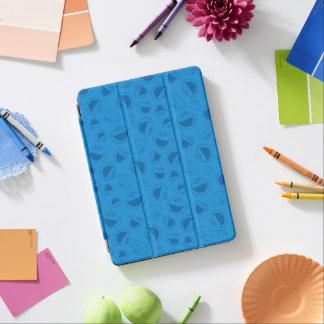 Protection iPad Air Monstre de biscuit   je motif bleu impressionnant