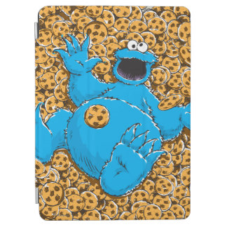 Protection iPad Air Monstre vintage et biscuits de biscuit