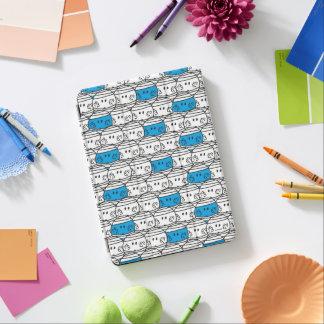 Protection iPad Air Motif bleu de M. Bump  