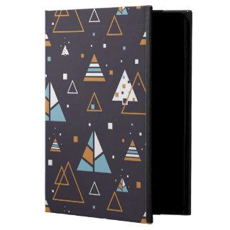 Protection iPad Air Motif coloré géométrique moderne 4 de triangles