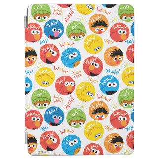 Protection iPad Air Motif de caractère de cercle de Sesame Street