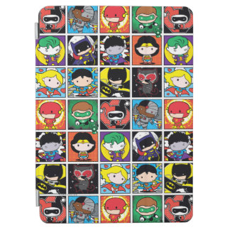 Protection iPad Air Motif de caractère de ligue de justice de Chibi