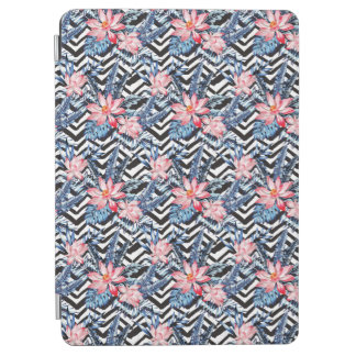Protection iPad Air Motif de fleur tropical de Lotus