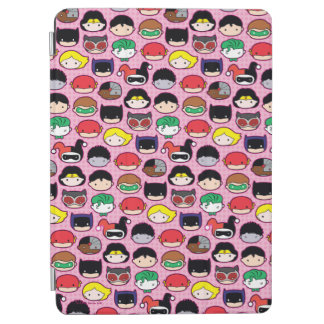 Protection iPad Air Motif de tête de ligue de justice de Chibi