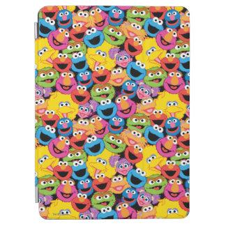 Protection iPad Air Motif de visages de caractère de Sesame Street
