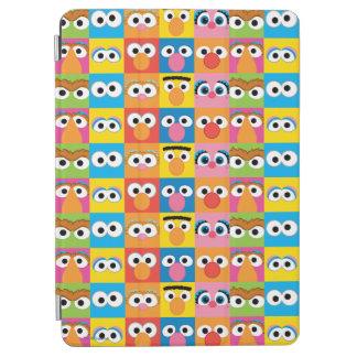 Protection iPad Air Motif de yeux de caractère de Sesame Street