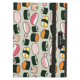 Protection iPad Air Motif d'illustrations d'amusement de sushi