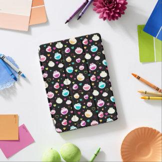 Protection iPad Air Motif doux de coeur de substance d'Elmo et de