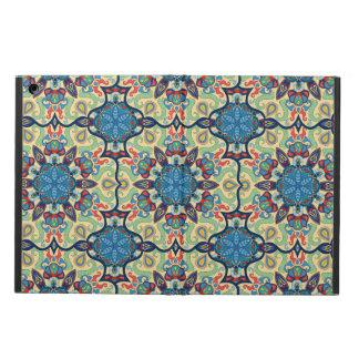 Protection iPad Air Motif floral ethnique abstrait coloré De de