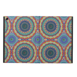 Protection iPad Air Motif floral ethnique abstrait coloré de mandala