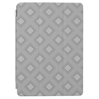 Protection iPad Air Motif gris classique de carrés