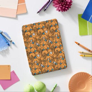 Protection iPad Air Motif orange de chatouillement de M. Tickle  