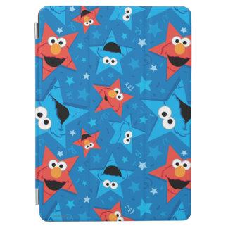 Protection iPad Air Motif patriotique d'Elmo et de monstre de biscuit