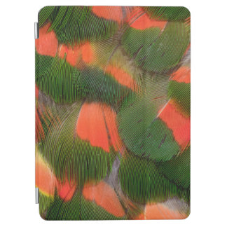 Protection iPad Air Motif rouge et vert de plume