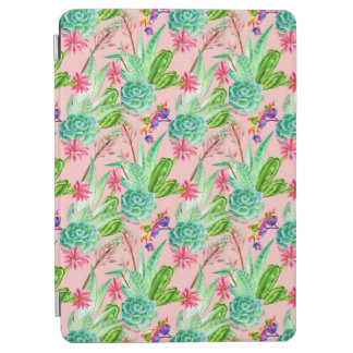 Protection iPad Air Motif se développant de Succulents d'aquarelle