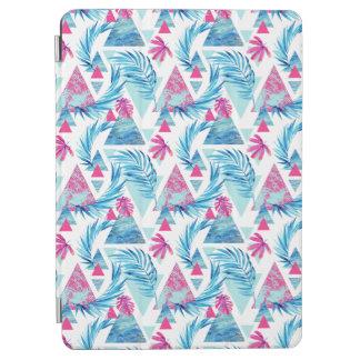Protection iPad Air Motif tropical de feuille d'aquarelle abstraite
