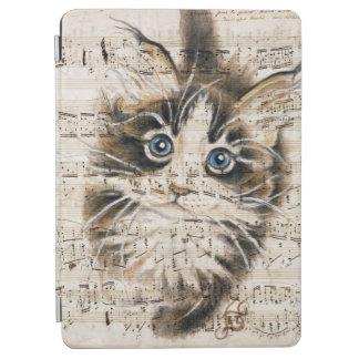 Protection iPad Air Musique de Kitty de ragondin du Maine