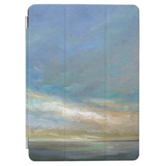 Protection iPad Air Nuages côtiers avec l'océan