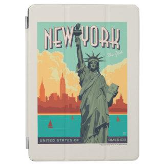 Protection iPad Air NYC - Madame Liberty