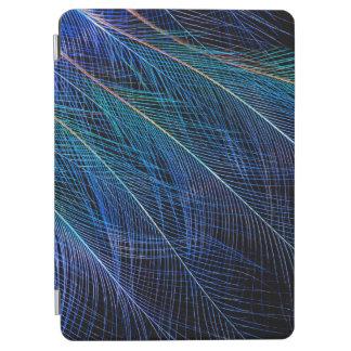 Protection iPad Air Oiseau bleu d'abrégé sur plume de paradis