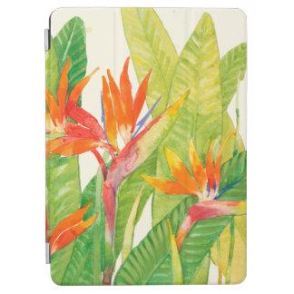 Protection iPad Air Oiseau des fleurs   du paradis tropical
