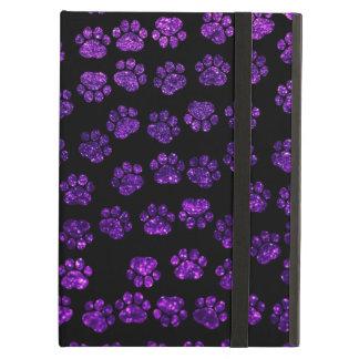 Protection iPad Air Pattes de chien, empreintes de pattes,