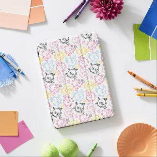 Protection iPad Air Petit joli motif de pastels de Mlle le princesse  
